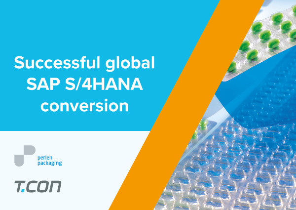 Successful global SAP S/4HANA conversion