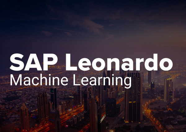 Machine Learning - SAP Leonardo