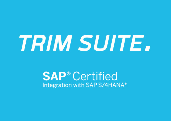 T.CON TRIM SUITE 2.0 certified by SAP