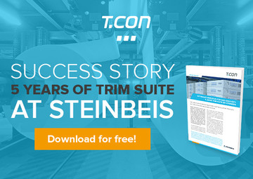 Five years of TRIM SUITE at Steinbeis Papier