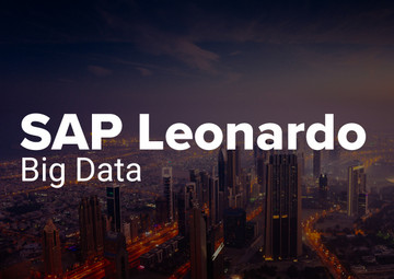 Big Data with SAP Leonardo | T.CON